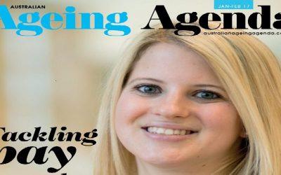 Australian Ageing Agenda: Avoiding Medication When Residents Become Aggressive